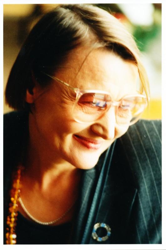 Onė Baliukonė. Apie 2000 m. F. Augustino nuotrauka