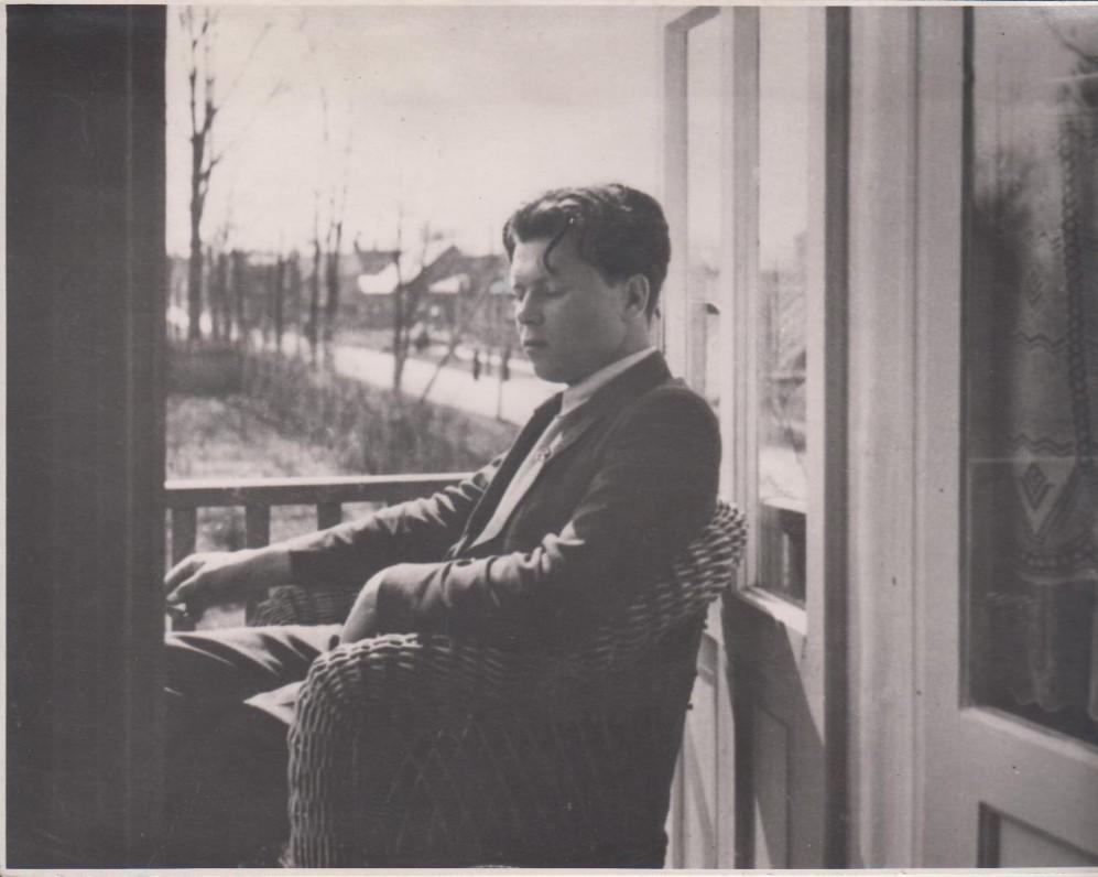 P. Cvirka 1935 m. Aukštojoje Fredoje