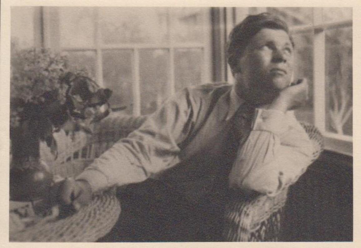 P. Cvirka apie 1936 m. Fredoje. Cvirkienės nuotrauka