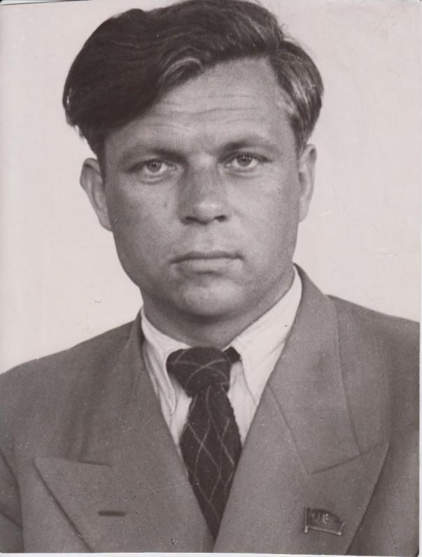 P. Cvirka. J. Racenbergo nuotrauka