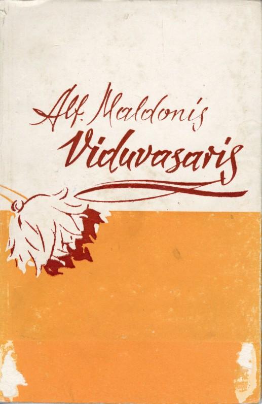"""Pirmoji knyga – """"Viduvasaris"""". 1958 m."""