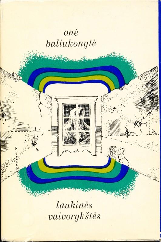 Pirmoji poetės eilių knyga. Vilnius. 1971 m.