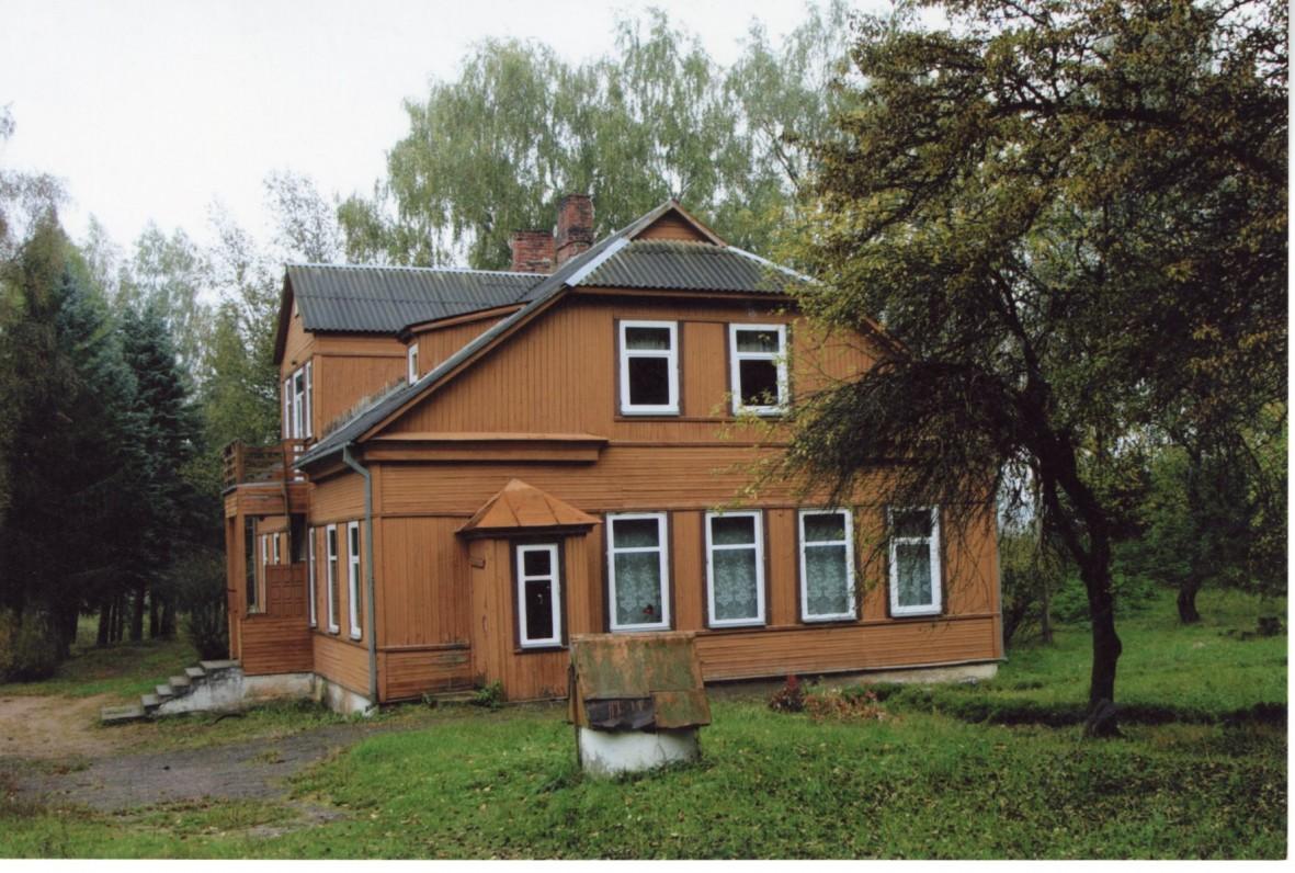 Pocelonių mokykla, kurią lankė A. Maldonis. 2008 m. Fotografas Z. Baltrušis