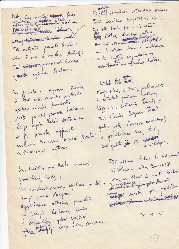 """Poemos """"Gedimino laiškai"""" fragmentai"""