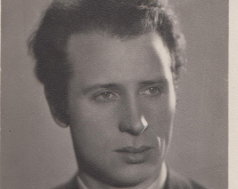 Prozininkas Mykolas Sluckis apie 1950 m.