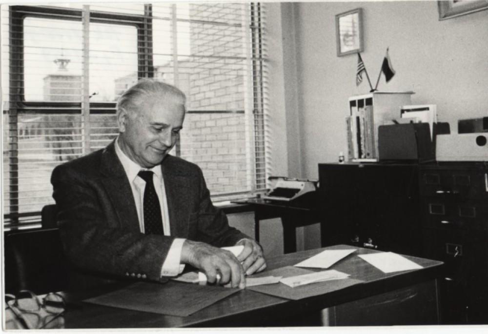 S. Džiugas. Apie 1990 m. Vilnius. O. Pajedaitės nuotrauka