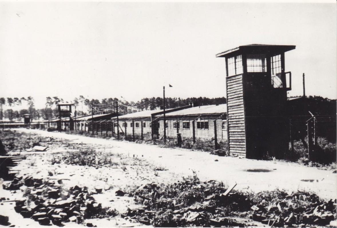 Štuthofo koncentracijos stovykla, kur 1943–1945 m. kalėjo kun. S. Yla