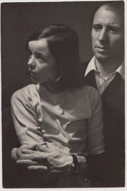 Su dukra Snieguole. Apie 1968 m. A. Sutkaus nuotrauka