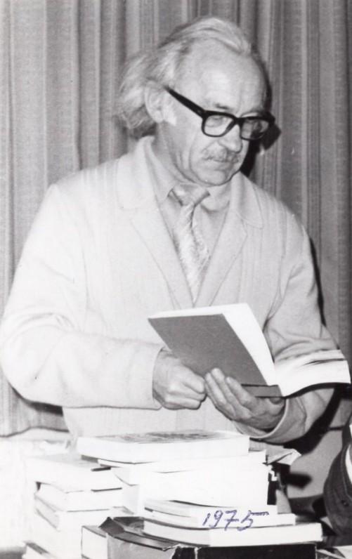 """V. Kazokas savo """"Kazokynėje"""". Sidnėjus, 1975 m."""