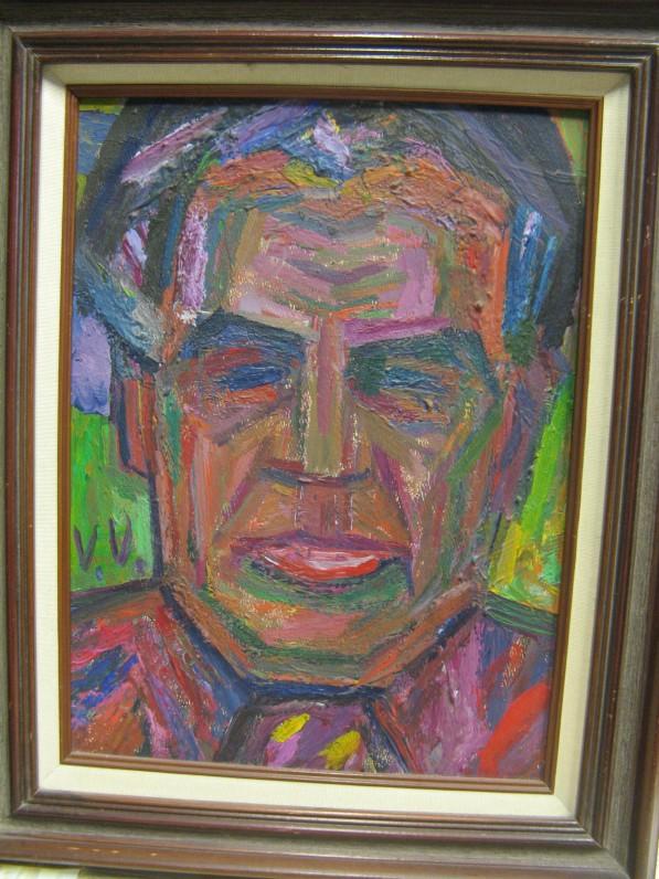 V. Vizgirdos tapytas A. Gustaičio portretas