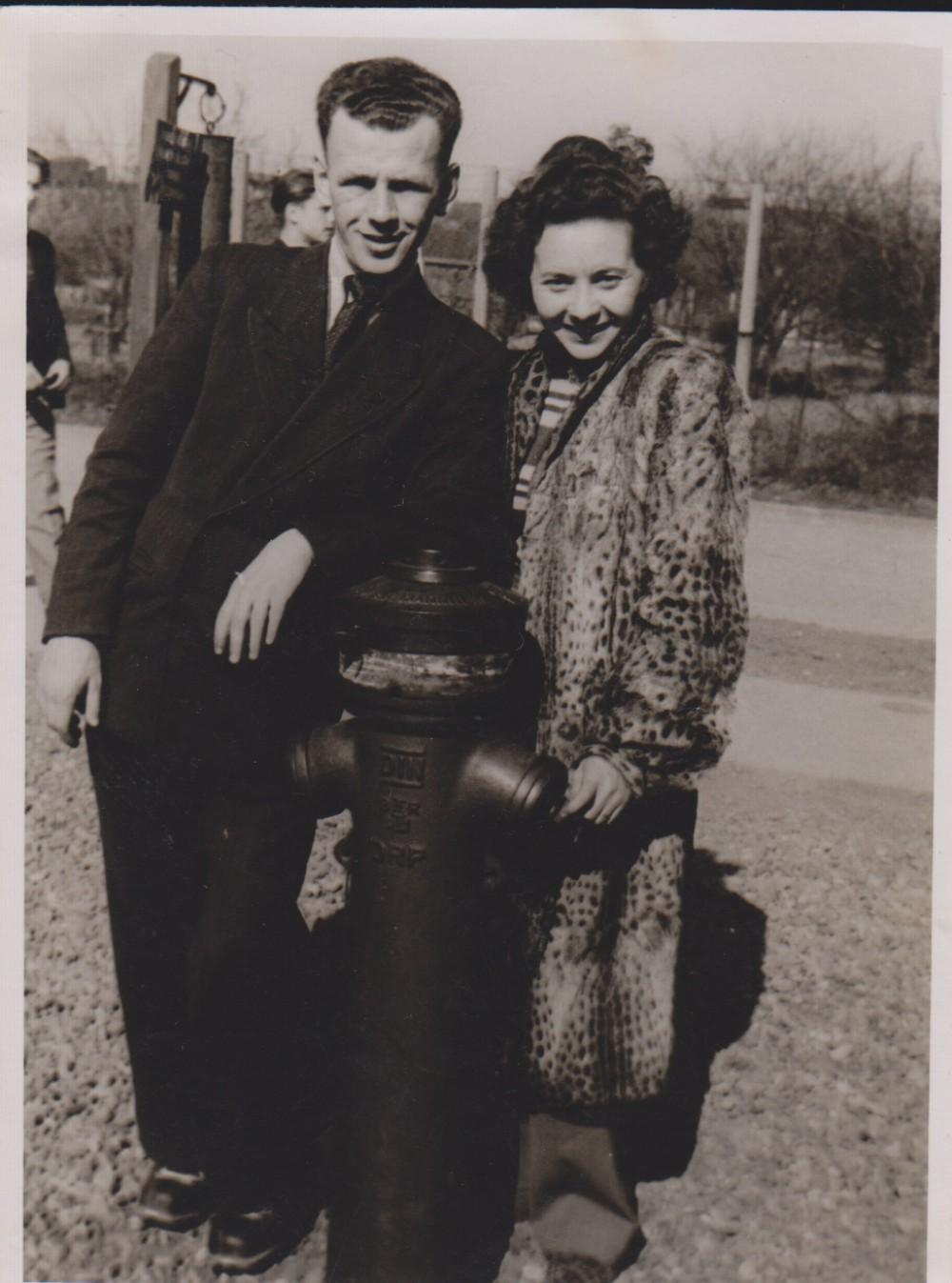 V. ir M. Jonynai. Vokietija. 1949 m.