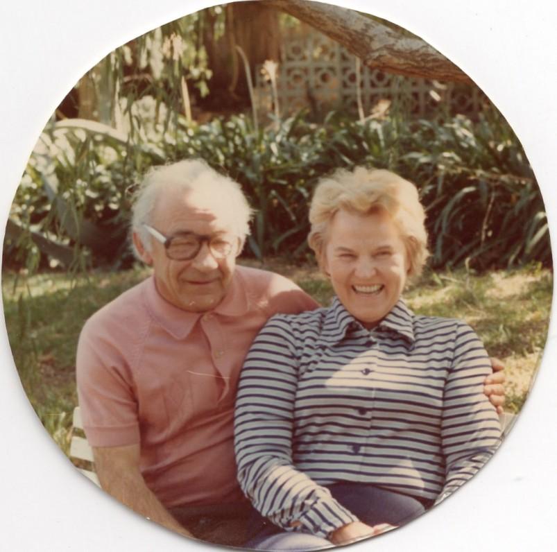 Vincas ir Genovaitė Kazokai. Sidnėjus. Apie 1970 m.