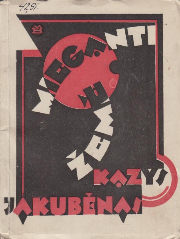 Viršelio dailininkas M. Bulaka. 1929 m.
