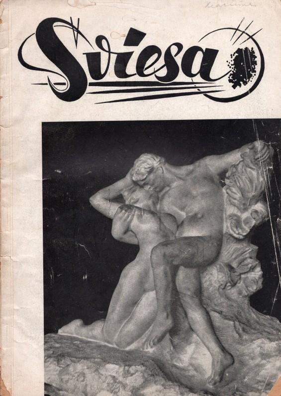 """Žurnalas """"Šviesa"""", leistas Vokietijoje, kuriame V. Kazokas bendradarbiavo"""