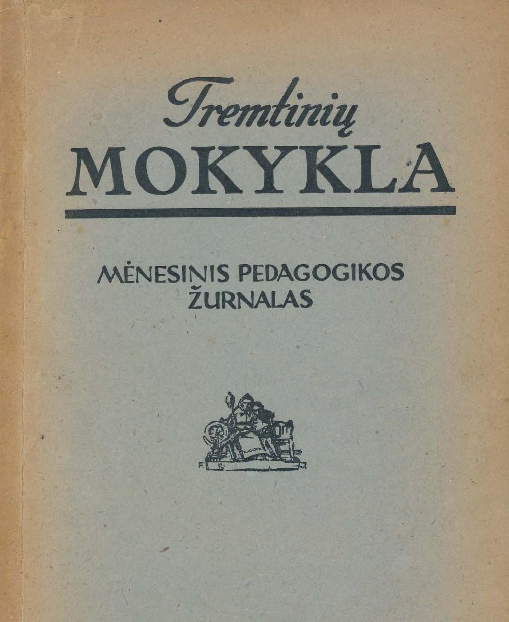 """Žurnalas """"Tremtinių mokykla"""". 1946 m., Nr.1. L. Miškino (A. Čipkaus) pirmoji literatūros kritiko recenzija S. Santvaro knygai """"Laivai palaužtom burėm"""""""