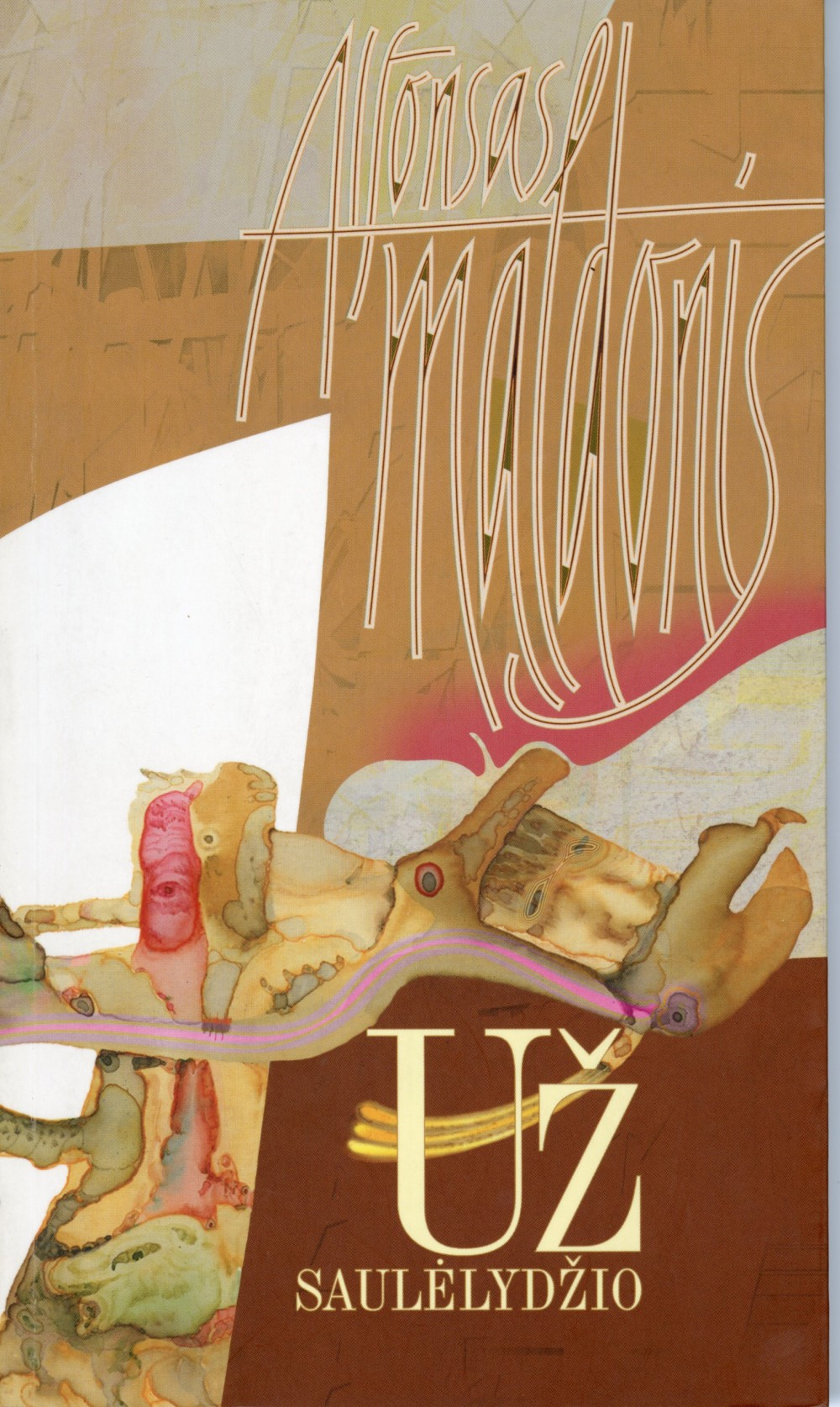 Paskutinė poeto A. Maldonio parengta knyga, kurios jis nebepamatė