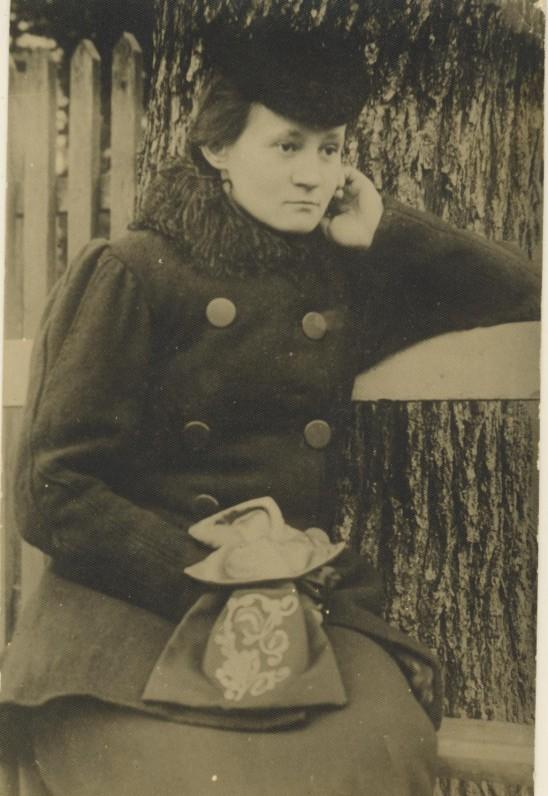Marija Ivanauskaitė-Lastauskienė. Apie 1902 m.
