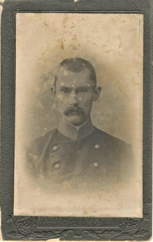 Pranas Vaičaitis. Apie 1900 m.