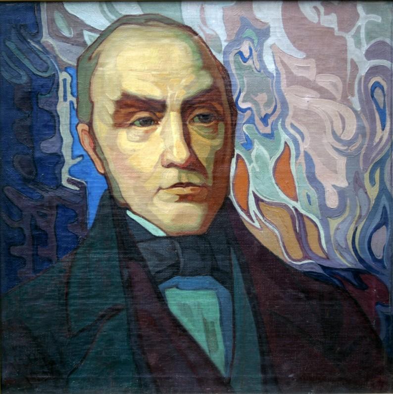 Simonas Daukantas. Dail. A. Varnas. 1937 m.