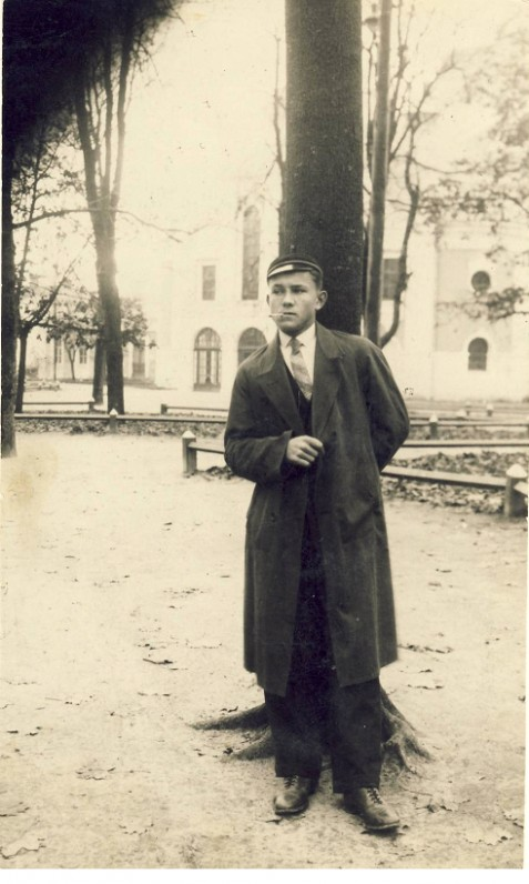Viktoras Katilius – VDU studentas. Kaunas. 1929 m.