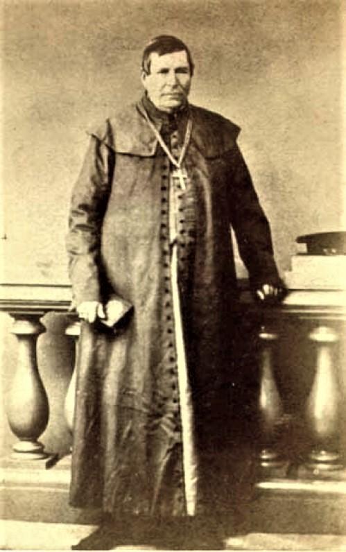 Vyskupas M. Valančius. Apie 1850 m.