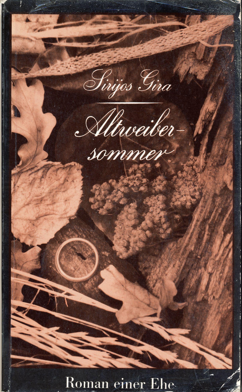 """Romanas """"Voratinkliai draikės be vėjo"""" vokiečių kalba. Vertė I. Brewing. Berlynas. 1972 m."""
