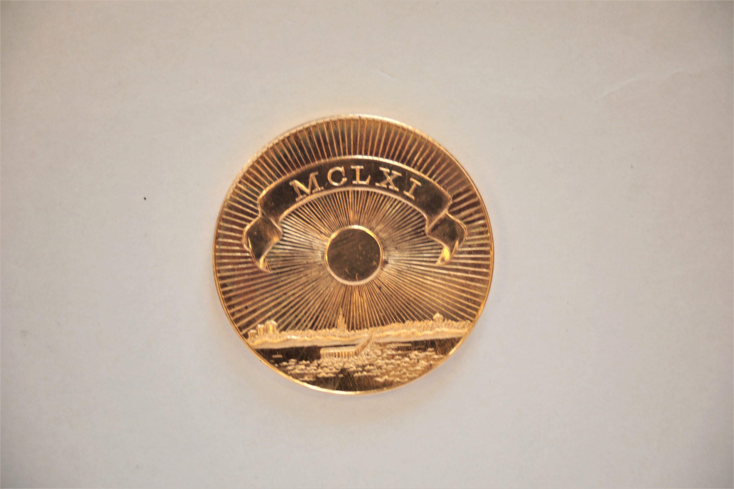 Medalis. Palanga. Geltonas metalas. Reversas. Autorius nežinomas