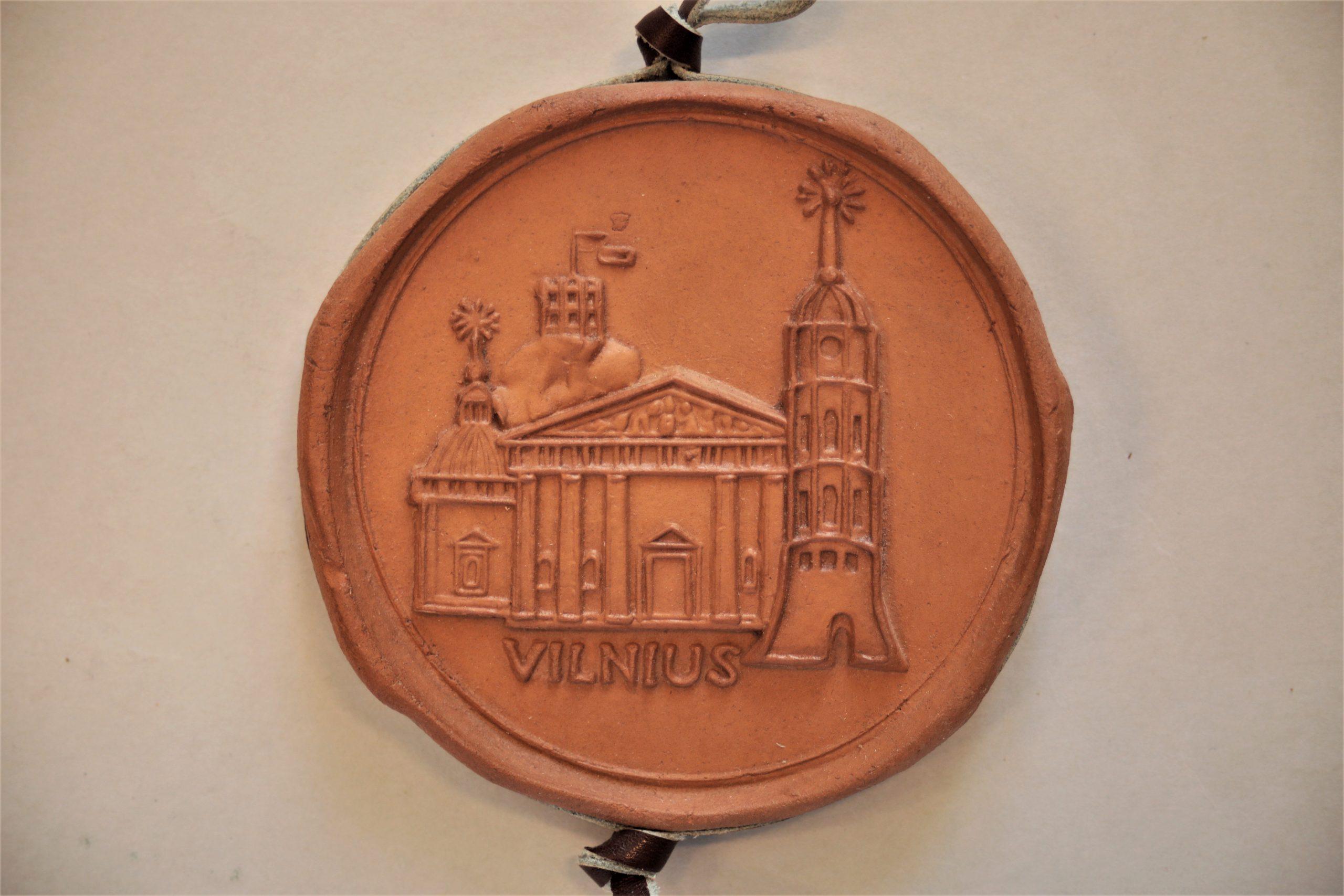 Medalis. Vilnius. Molis. Autorius nežinomas
