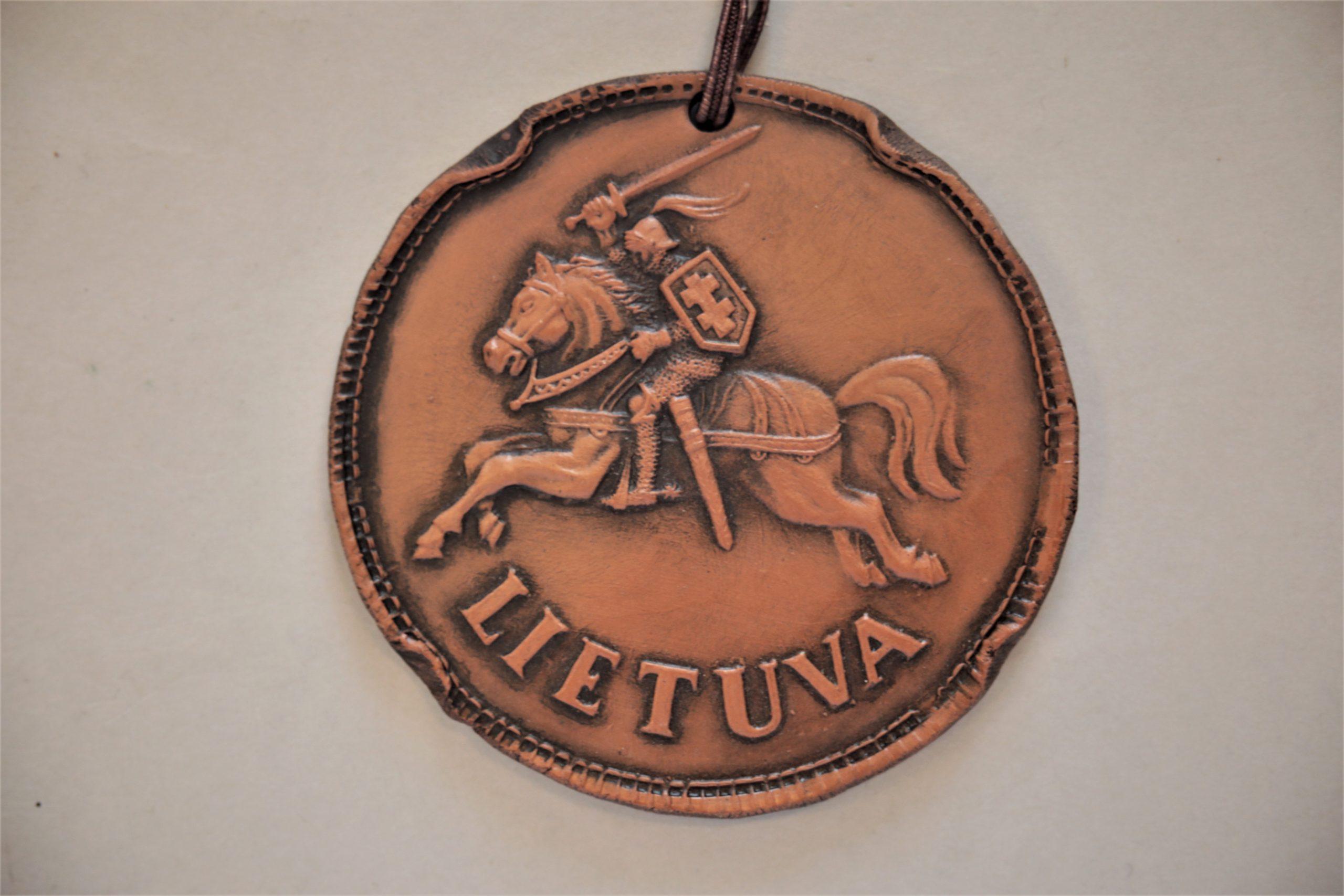 Medalis. Lietuva. Molis. Autorius nežinomas